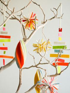 Create some colorful decorations for your Christmas tree! #holidays #decor #christmas