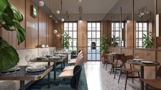 View full picture gallery of Blum Cafe Italy Restaurant, Restaurant Design, Cafe Design, House Design, Brick Cafe, Cafe Pictures, Retail Interior Design, Soho House, Commercial Design