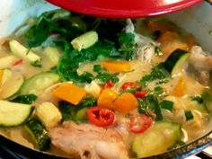Slimming world Thai Green Curry
