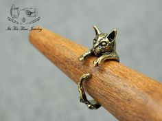 Cat / Kitty adjustable Ring! ------------------------------------------------- US Size : 6 - 8 Color: Gold Quantity: 1 pc ------------------------------------------------- Your jewelry will arrive in a gift box.  Handling time:  Please allow 1-3 business days for us to process your order...
