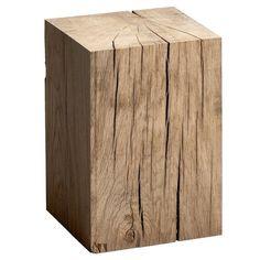 Bout de canapé chêne Merlin AM.PM : prix, avis & notation, livraison. Véritable objet de déco, ce bout de canapé au style très nature peut faire office de chevet ou de table basse (en accumulation). En chêne massif. 2 coloris : naturel, brut de sciage (peut être poncé ou ciré pour une finition un peu moins nature) ou noir, aspect brûlé, finition vernis mat.4 patins pour l'isoler du sol. Taille 1 : L. 25 x P. 25 x H. 30 cm. Poids 12 kg.Taille 2 : L. 25 x P. 25 x H. 35 cm. Poids 16 kg.Taille 3…