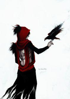 Morrigan Sketch by Ami-Fly