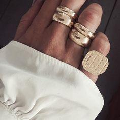 281 Likes, 8 Kommentare – Fox Pomona ( – Damen Schmuck und Accessoires - DIY Schmuck Ringe Diy Jewelry Rings, Diy Jewelry To Sell, Sea Glass Jewelry, Bridal Jewelry, Jewelry Art, Beaded Jewelry, Jewelry Accessories, Fashion Jewelry, Handmade Jewelry