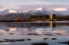 Castle Stalker on Loch Linnhe, Appin, Argyll, Scotland. #appin... #appin: Castle Stalker on Loch Linnhe, Appin, Argyll, Scotland.… #appin