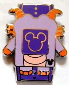 WDW - 2014 Hidden Mickey Series - Character MagicBands - Figment - Pin 102263