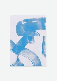 Transmission de puissance - II Screenprint 50 x 70 cm  2 colors  Edition of 21 2015