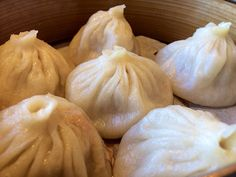 "Steamed ""Xiao Long Bao"" Soup Dumplings 