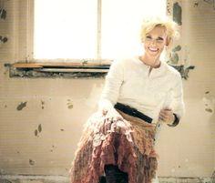 Hilary Weeks CD album Cover shoot - makeup