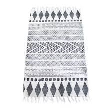 Block matta i gruppen Textil / Mattor / Bomull & Lin hos House Doctor, Kartell, Scandinavian Interior, Home Living Room, Home Textile, Decoration, Rugs On Carpet, Carpets, Interior Styling