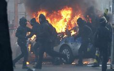 Civil Unrest Explodes In Berlin - Over 3500 People Riot Against Police | Zero Hedge