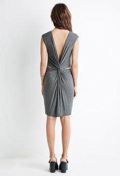 Twisted V-Back Dress - Dresses - 2000183982 - Forever 21 EU English