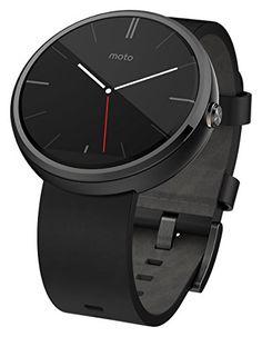 *NEW* Motorola Moto 360 Smart Watch Smartwatch Black Leather Android Wear Android Wear, Android Watch, Best Android, Android 4, Android Smartphone, Best Smart Watches, Cool Watches, Watches For Men, Gps Watches