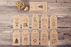Quaint tags > tarjetas navidad mr.wonderful*