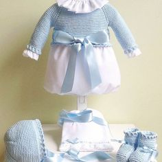 Nuestro clasico pelele en celeste 💙 para tu #luxurybaby    Modelo: P0001-16 #petitcolibrishop Peplum, Ruffle Blouse, Baby Knitting, Harajuku, Kids Fashion, Instagram, Women, Style, Bella