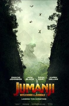 1st Trailer For 'Jumanji: Welcome To The Jungle' Movie Starring The Rock & Kevin Hart