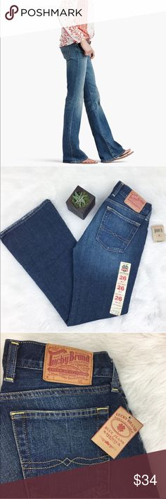 Lucky Brand Little Maggie Jeans Lucky Brand Little Maggie Jeans. Size 26 short. (30' inseam) NWT. ❌No trades ❌ Modeling ❌No PayPal or off Posh transactions ❤️ I Bundles ❤️Reasonable Offers PLEASE ❤️ Lucky Brand Jeans Flare & Wide Leg