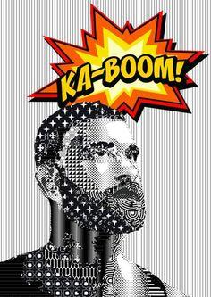 Ankara, ka-boom! To Remember the victims #ankara #digital #popart #artprint #newpop #neopop #neopopart #contemporaryart #bearded #beard #printart #vector  #graphic #digitalart #vector #vectorart #peace #francescomessina www.francescomessina.net