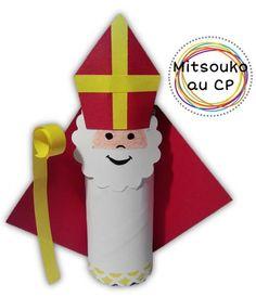Atelier pour fêter Saint Nicolas au cycle 2. Récupération, découpage et quilling au programme !
