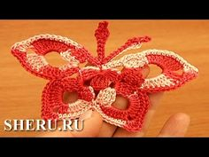 БАБОЧКА КРЮЧКОМ. BUTTERFLY Crochet #BUTTERFLY #crochet - YouTube