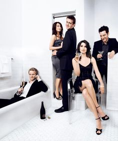 Love this shot of the HIMYM cast