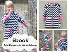 ★ ebook  COZY-DRESS Sweatkleid von Kid5  auf DaWanda.com