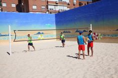 El Alcalde Manuel Robles ha inaugurado este sábado 3 nuevas pistas de Voley Playa en el Polideportivo El Trigal