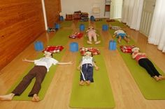 NA foto, Yoga para Crianças no Gaya Spa em Curitiba. Foto: Antônio More/Gazeta do Povo