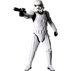 Simple. Elegant. Anonymous. Badass. Spend this Halloween being the envy of your fellow Star Wars fanatics. Complete with blaster rifle, this Supreme Edition Stormtrooper costume is as close to Empire-issued as it gets.