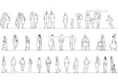 People, CAD library of DWG models. In this section you can find over 1000 AutoCAD blocks of sitting people, walking and people in various situations. Human Figure Sketches, Figure Sketching, Sketches Of People, Drawing People, People Drawings, Fish Illustration, People Illustration, Autocad, Cad Blocks Free