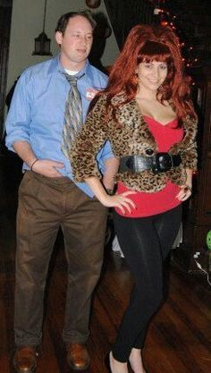 Unique Halloween Costume: Al and Peg Bundy. I think drew and I will Dexter Halloween, 80s Halloween Costumes, 90s Costume, Couple Halloween Costumes For Adults, Hallowen Costume, Adult Halloween Party, Holidays Halloween, Diy Costumes, Costume Ideas
