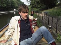 Damon Albarn with a Harrington jacket and Fred Perry polo
