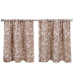 """Elrene Home Fashions Serene Kitchen Tier Set Color: Spice, Size: 30"""" H x 36"""" W"""