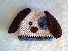 Baby Boy Hat Puppy Hat. $22.00, via Etsy.