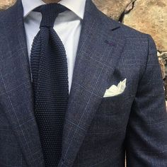 in a wool & cashmere blend suiting. Suit and accessories by B&R. Mens Office Fashion, Gents Fashion, Suit Fashion, Fashion Women, Fashion Outfits, Dapper Gentleman, Gentleman Style, Mode Costume, Future Fashion