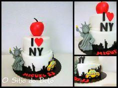 O sitio do bolo: New York, New York cake