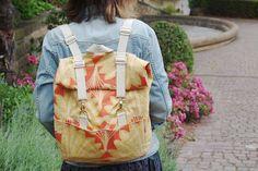 Patron gratuit du sac à dos Toucan - couture - Patrons et tutoriels de couture chez Makerist