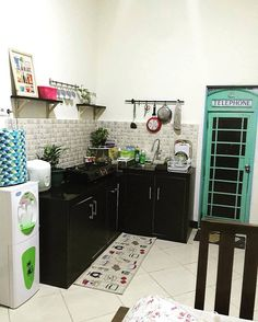 Model Dapur Sederhana Tanpa Kitchen Set