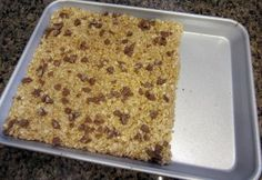 No-Bake Honey Granola Bars
