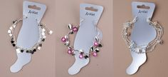 Fabulous #Anklets Avaliable @ http://www.completethelookz.co.uk/costume-fashion-jewellery-online-uk/fashion-anklets
