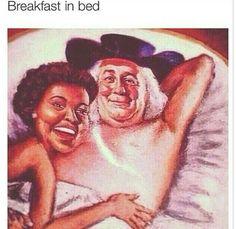 Wow, breakfast in bed...