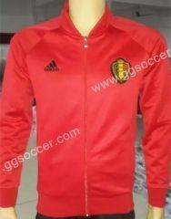 2015-16 Belgium Red Thailand Training Soccer Jacket
