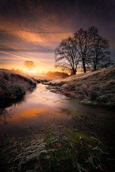 Auvergne sunrise