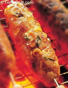 Corn and Potato Kebabs recipe | Sizzler Recipes | Barbeque Recipes | by Tarla Dalal | Tarladalal.com | #4852