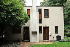 Margaret Esherick House. 1961. Chestnut Hill, Philadelphia, Pennsylvania. Louis I. Kahn.