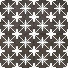 Znalezione obrazy dla zapytania realonda terakota 45x45 cm czarno białe
