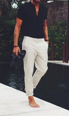 How to Pull Off Simple Plain Outfits #MensFashionAccessories