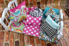 "American Girl Doll Bedding | Doll Bedding Set 10 pc | 18"" Doll Bedding Blanket Pillows | American Girl Bedding | 18 inch Doll Bedding by 2KrazyLadiesCrafts on Etsy"