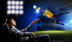 find the perfect TV for watching sports at home #football #nfl #basketball #nba #ncaa #baseball #mlb #golf #hockey #nhl