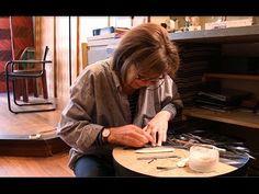 ▶ A la rencontre de... Lison de Caunes créatrice et restauratrice de Marqueterie de Paille - YouTube