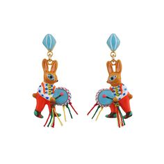 N2 Fanfare earrings